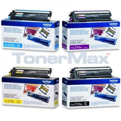 BROTHER MFC-9010CN TONER BUNDLE PACK ((BLACK, CYAN, MAGENTA, YELLOW)